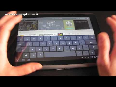 Video Recensione ACER Iconia Tab A500 (Android Honeycomb)