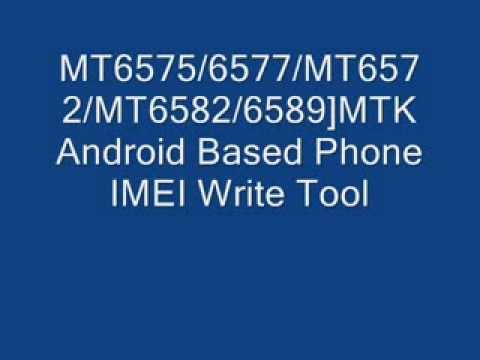 All MTK IMEI REPAIR TOOL support all mtk chipset