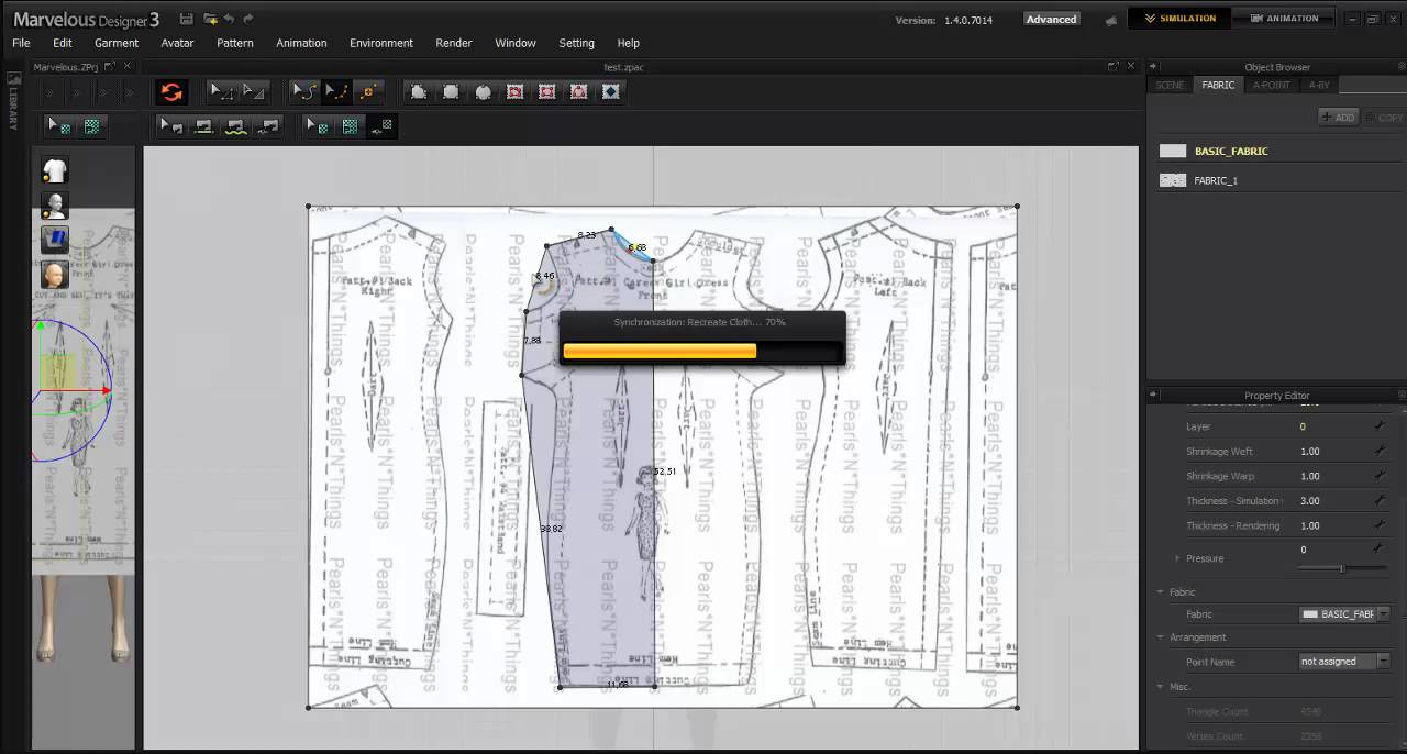 How to trace a pattern in marvelous designer 3 youtube jeuxipadfo Images