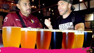 Americans REACT to INDIAN CRAFT BEER in Kolkata | West Bengal, India