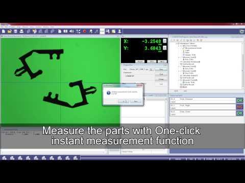 Quick Image 2D vision measurement system.