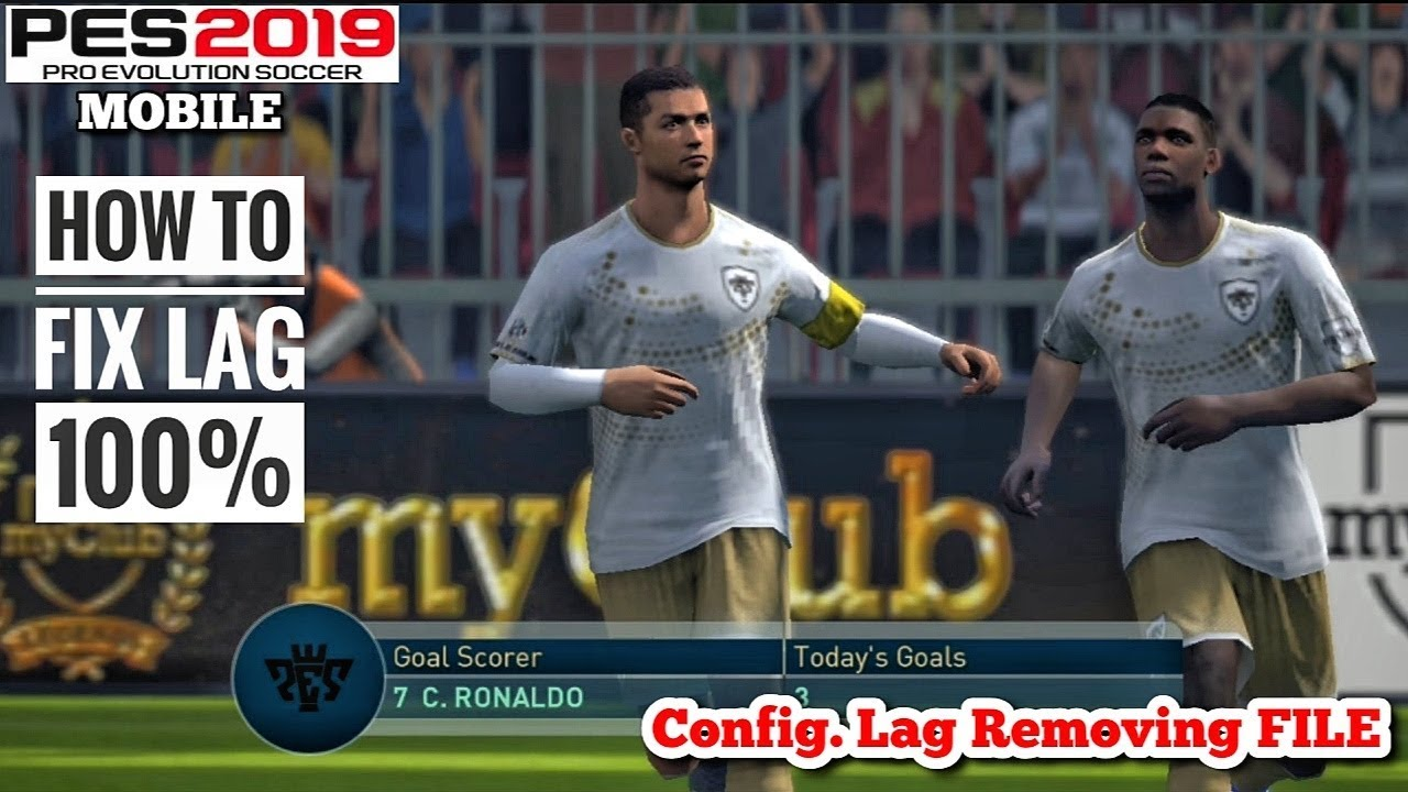 How To Fix Lag In PES 2019 Mobile V3 3 0(1000% Working), Видео