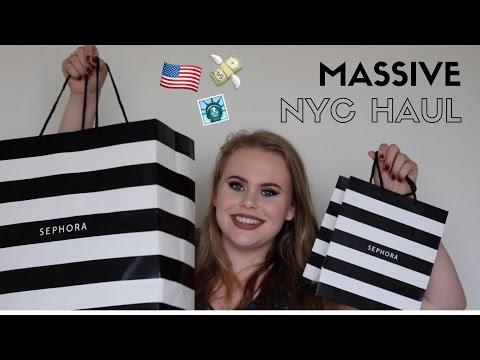 I SPENT $1000 IN SEPHORA?!! | MASSIVE NYC HAUL