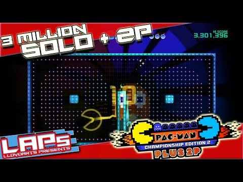 Pac-Man CE 2: PLUS 2P | Championship 2 + 2P(CP): Scoring 3 MILLION+