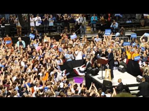 Bernie Sanders in Baltimore Royal Farms Arena