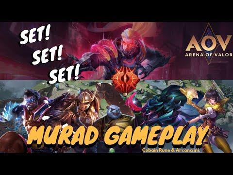 Arena of Valor   Murad Jungler gameplay   !!!15 kills