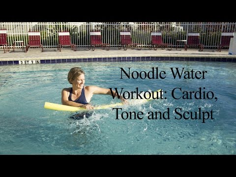 Aqua Noodle: Total Body Cardio, Tone, Stretch WATER NOODLE WORKOUT#1-WECOACH