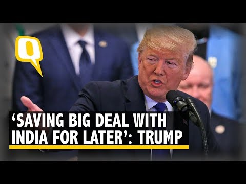 'Not Treated Very Well By India': Donald Trump Ahead Of India Visit | The Quint