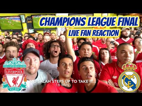 Americans heartbroken for mo salah - liverpool 1-3 real madrid live reaction
