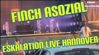 Finch Asozial - Eskalation Live Autokultur Hannover 21.06.2020