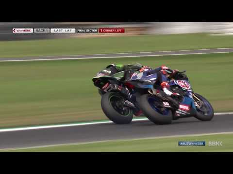 THRILLING last 2 laps Race 1 | Watch one for the closest ends of #WorldSBK history at Phillip Island