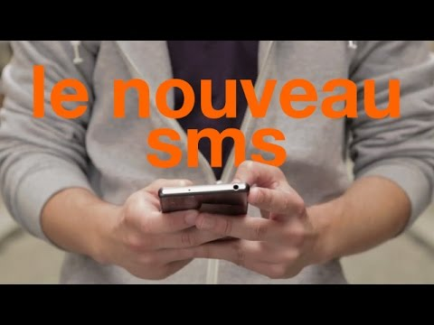 Video Le nouveau SMS - Orange
