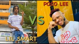 Lil Smart vs Poco lee PART 2 WHO IS THE BEST