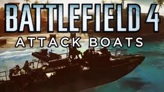 Battlefield 4 Multiplayer Gameplay | Attack Boats Obliteration Paracel Storm