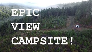 Oregon dispersed campsite wİth an EPIC VIEW!