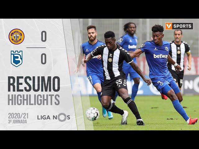Highlights | Resumo: CD Nacional 0-0 Belenenses (Liga 20/21 #3)