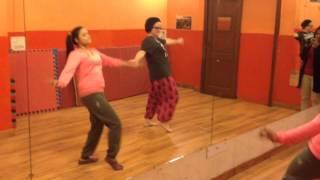 Learning Rajasthani Folk Dancing . . .