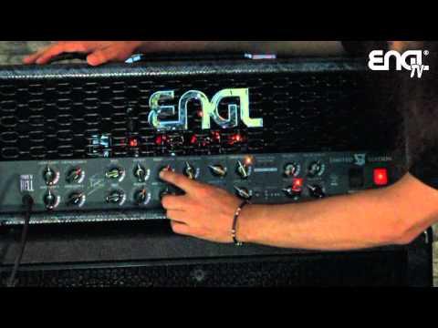 ENGL TV -  Victor Smolski talking about his new Limited Edition 100 Watt Engl Head