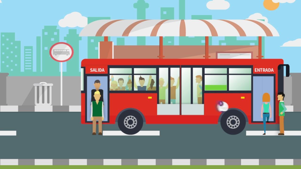 Normas para utilizar correctamente el transporte público