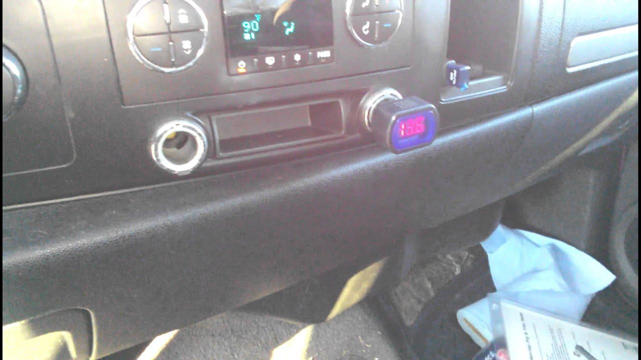 Chevy Silverado 1500 4x4 Voltage Regulation Rvc Youtube Blazer Electric Trailer Brakes Wiring