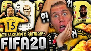 REAGERER til FIFA 20 fra AMSTERDAM og CAPTURE EVENT 👀🔥 **RATINGS & MIN FØRSTE PACK**