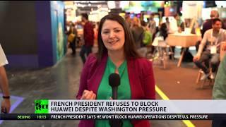 Contrary to Washington: Macron refuses to block Huawei