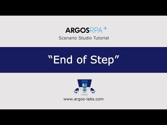 End of Step