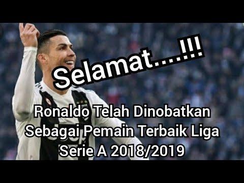 Selamat !!! Ronaldo Telah Dinobatkan Sebagai Pemain Terbaik Liga Serie A Musim Ini