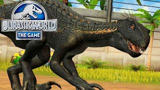 ЧЕТВЁРТЫЙ ИНДОРАПТОР - Jurassic World The Game 224