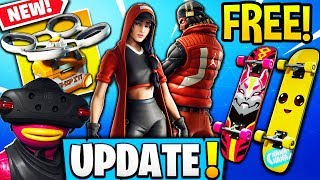 Streamers GET *FREE* SKIN STYLES, EXCLUSIVE SKATEBOARDS + NEW Supply Drops! - Fortnite Moments