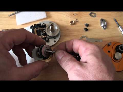 Abu 5500/6500 How to replace the Gears Step by Step Instructions