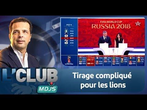 L'CLUB : Tirage compliqué pour les lions