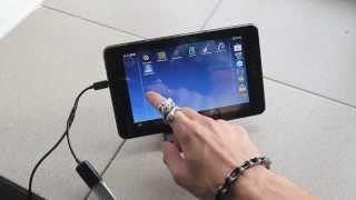 Repeat youtube video ASUS MeMO Pad HD 7 ME173X with OTG