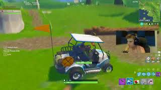 HOW TO GLITCH UNDERGROUND IN NEW EXPLOIT WITH GOLF CART IN SEASON 5 (UNKNOWN)