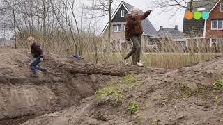 Start inrichten  speelplaats voor Natuurlijk spelen aan de  Kooiveen Oldebroek