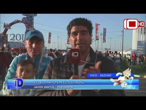 Móvil desde Rusia: Vivimos la entrada al estadio con los hinchas