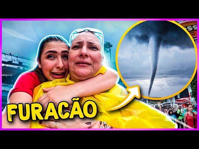 ENFRENTAMOS UM FURACÃO EM ORLANDO!