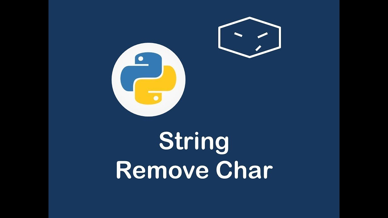 remove letter in string in python - youtube