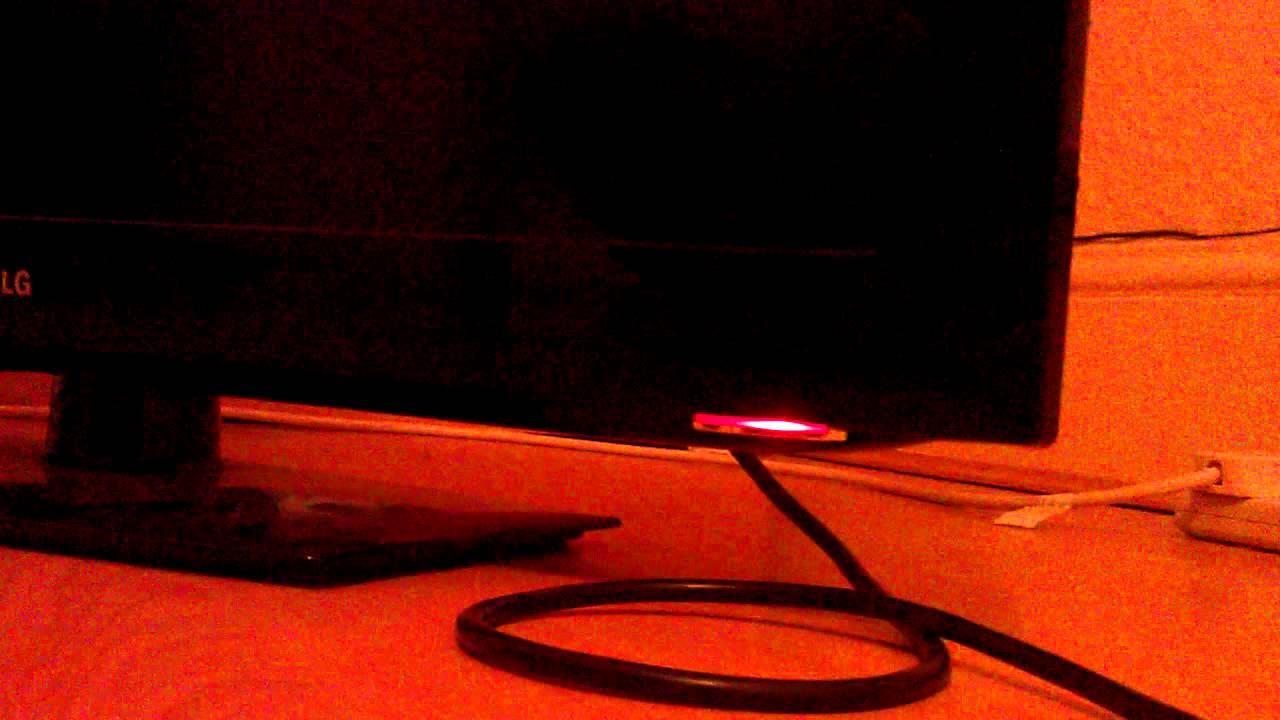 Lg 32ld450 red flashing light