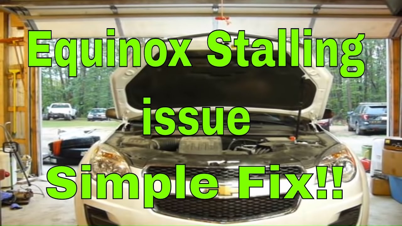 Chevy Equinox stalling issue FIXED! P0010 P0011