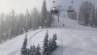 POW! Heavy snow blankets Donner Summit, CA