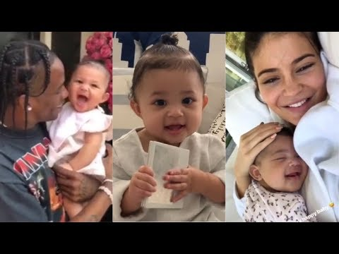 1 YEAR OF BABY STORMI | with Kylie Jenner & Travis Scott