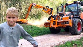 BRUDER John Deere for Children ♦ Traktor PORSCHE Diesel Super Bulldog für Kinder!