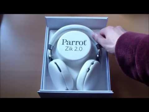 Déballage du Parrot Zik 2.0