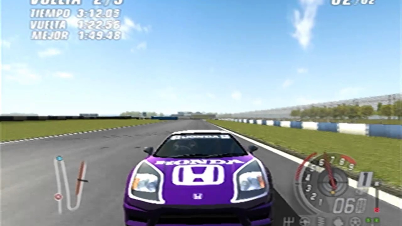 toca race driver 3 honda nsx donington grand prix circuit ps2 online 2017 youtube. Black Bedroom Furniture Sets. Home Design Ideas