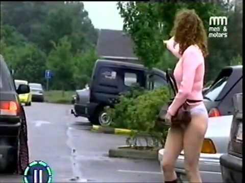 Skirt Caught In Door 23
