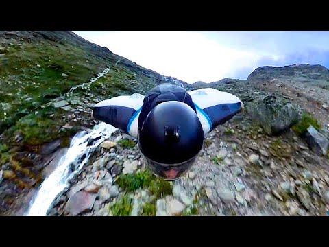 Brendan Weinstein Skimming The Earth in a Wingsuit