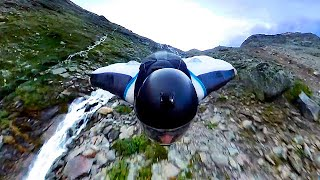 Brendan Weinstein Skimming The Earth in a Wingsuit