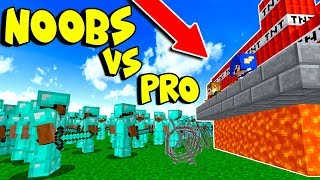 DESAFIO DO CASTELO NOOB VS PROS (MINECRAFT)