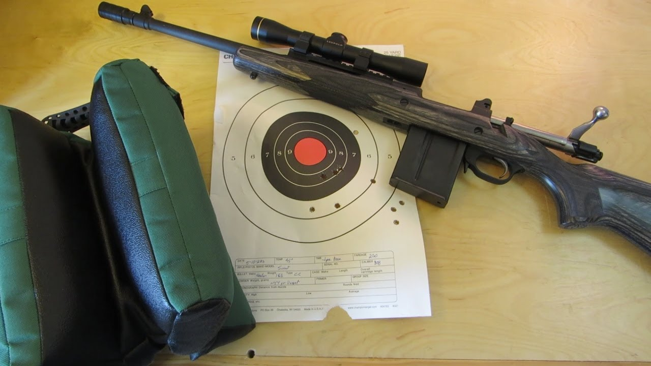 Ruger Gunsite Scout 200 yards
